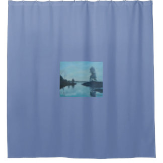 CROSS CREEK IN FLORIDA Shower Curtain