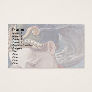 Cross Detail By Bronzino Angelo Business Card