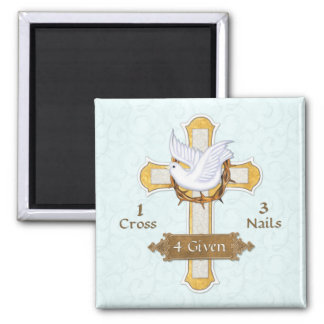 Cross Dove 4 Given Magnet