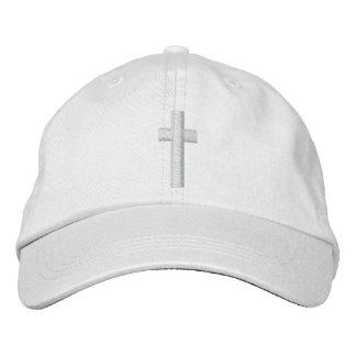 Cross Embroidered Baseball Caps