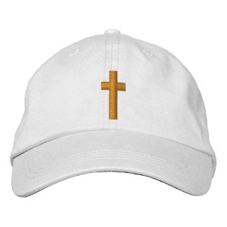 Cross Embroidered Hat
