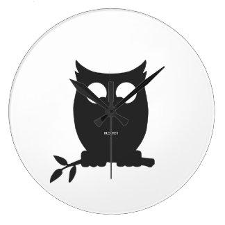 Cross Eyed OWL Wallclock