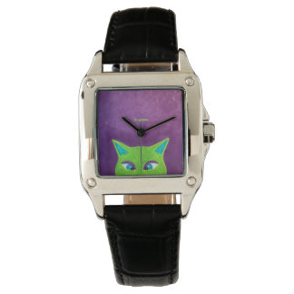 Cross Eyed Pussy Up For Grabs Wristwatches