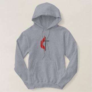 Cross & flame hoody
