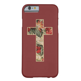 Cross Floral Barely There iPhone 6 Case