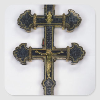 Cross, from Clairmarais Abbey Square Sticker