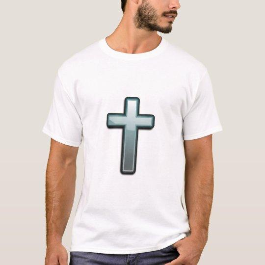 Cross glass art T-Shirt