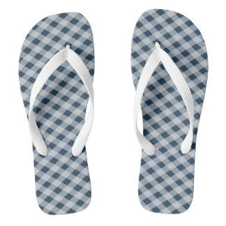 Cross-hatched Flip Flops