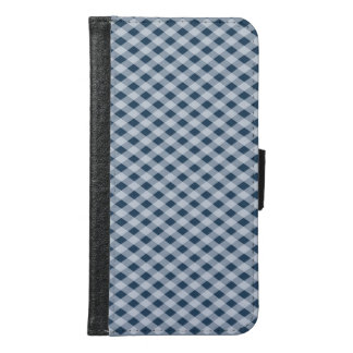 Cross-hatched Samsung Galaxy S6 Wallet Case