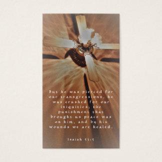 Cross-healed Business Card