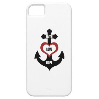 Cross Heart Anchor iPhone5 Case For The iPhone 5