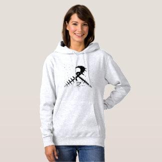 Cross heart hoodie