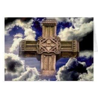 Cross in Sky Card