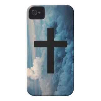 Cross in the Sky iPhone 4 Case