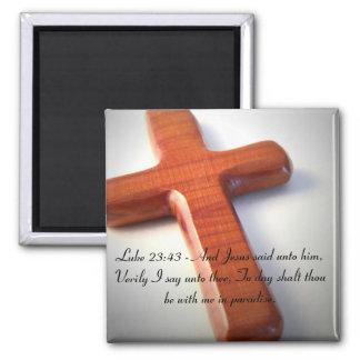 Cross Inspirational Magnet