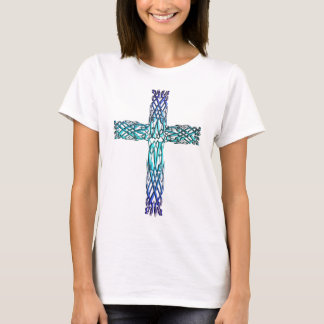 CROSS IRISH CELTIC STYLE T-Shirt