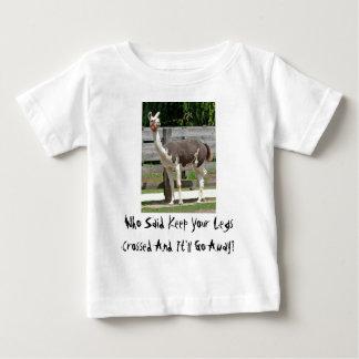 Cross-Legged Llama Infant's Clothing T-shirt