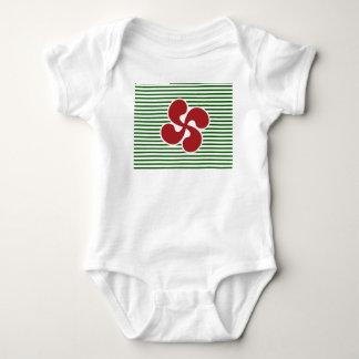 Cross Marine Basque Baby Bodysuit