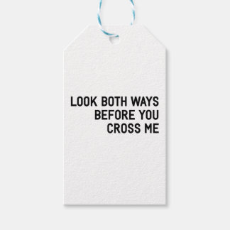 Cross Me Pack Of Gift Tags