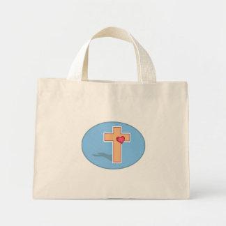 Cross Mini Tote Bag