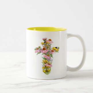 Cross Mug - Cornflower