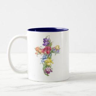 Cross Mug - Iris