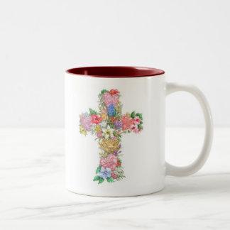 Cross Mug - Love, Hope, Faith