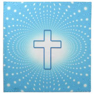 cross napkin