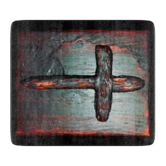 Cross of Blood Cutting Board