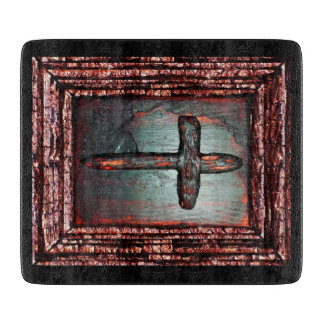 Cross of Blood Cutting Boards