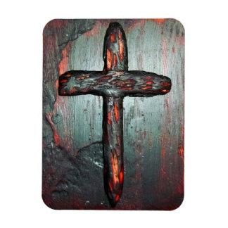 Cross of Blood Rectangular Photo Magnet