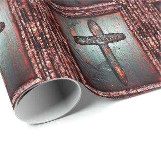 Cross of Blood Wrapping Paper