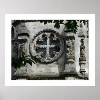 Cross of Love Rosslyn Chapel 16x20 Poster
