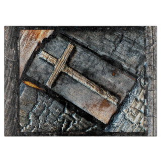 Cross of Protection Cutting Board
