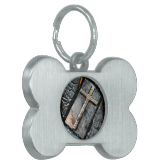 Cross of Protection Pet Tags