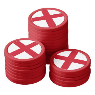 Cross of Sain George Poker Chips