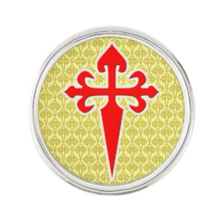 Cross of Saint James Lapel Pin