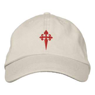 Cross of Santiago Embroidered Hats