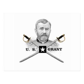 cross of us grant postcard