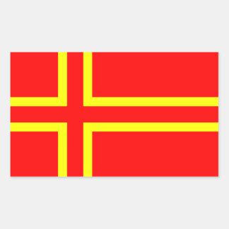 Cross Olaf Saint Sticker