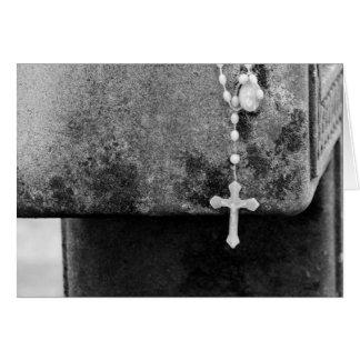 Cross on a Cross Greeting Card