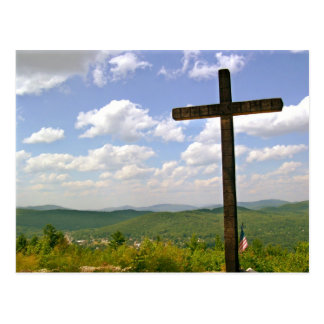 Cross on a Hill Postcard