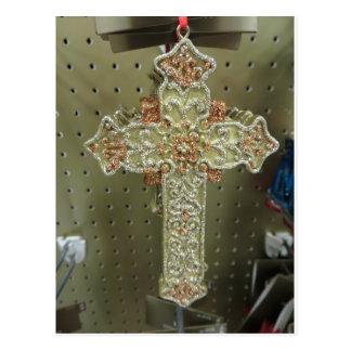 Cross Ornament Postcard