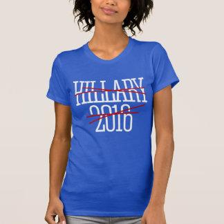 CROSS OUT HILLARY 2016 -- - Anti-Hillary - T-Shirt