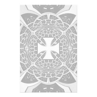 Cross pattée stationery paper