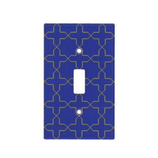 Cross Pattern Light Switch Cover