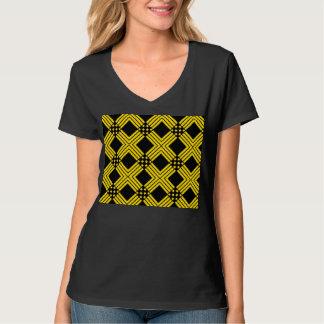 Cross Pattern T-Shirt