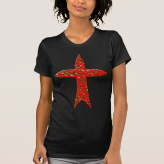 Cross pentagon t shirt
