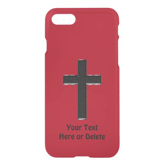 Cross Phone Cases Your Colours and Text