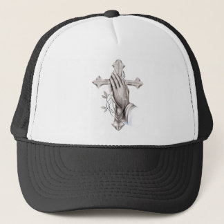 Cross Praying Trucker Hat